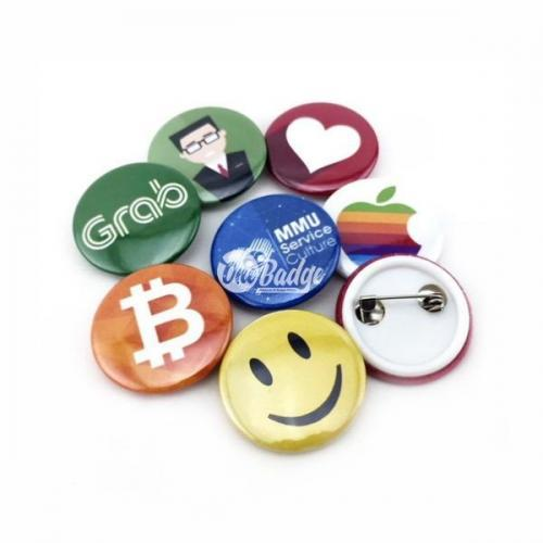 Button Badge 25mm Supplier Malaysia