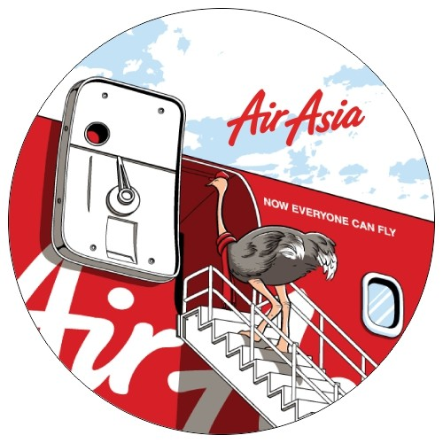 Airline Theme Button Badge (4)