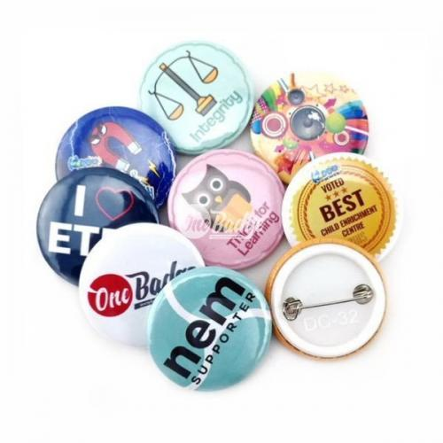 Button Badge 32mm Supplier Malaysia