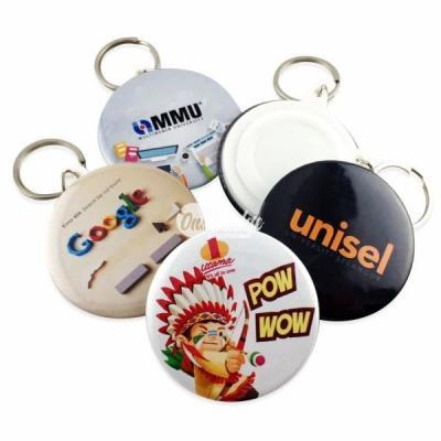 Button Badge 58mm Key Chain