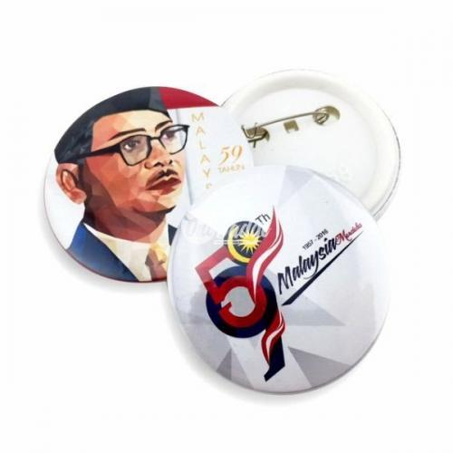 Button Badge 58mm Merdeka Theme