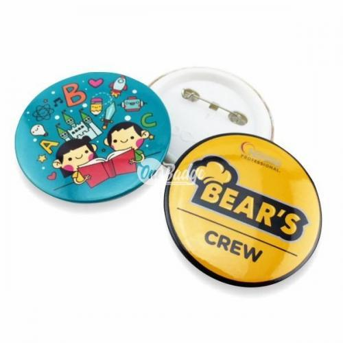 Button Badge 58mm Material Supplier Selangor