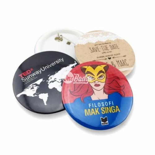 Button Badge 58mm Printing Supplier Kuala Lumpur