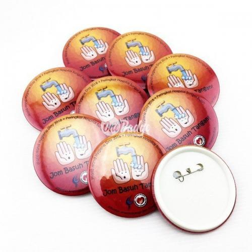 Button badge wholesaler 75mm Malaysia