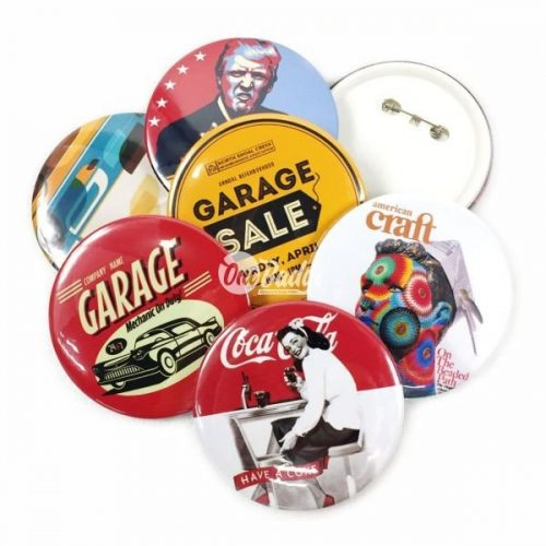 Button Badge 75mm circle shape supplier in Malaysia.