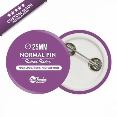 Custom Design & Print Button Badge- 25mm