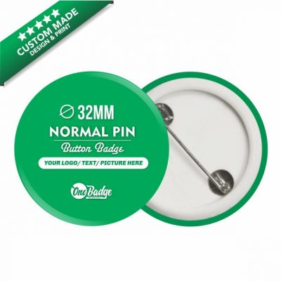 Custom Design & Print Button Badge- 32mm