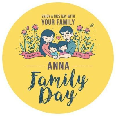 Family Day Button Badge (10)