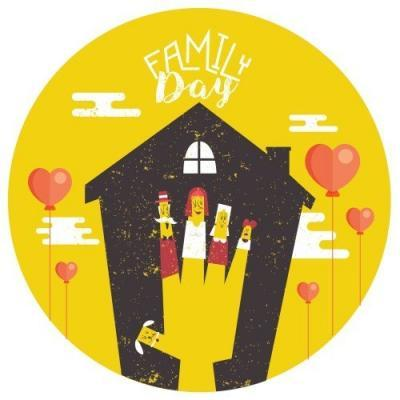 Family Day Button Badge (4)