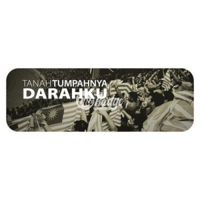 Merdeka Theme Rectangle Badge (5)