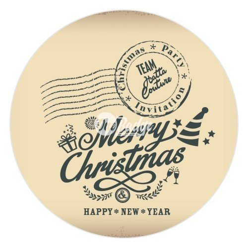 Merry Christmas Theme Button Badge (2)