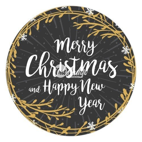 Merry Christmas Theme Button Badge (3)