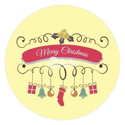 Merry Christmas Theme Button Badge (7)