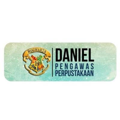 Rectangle Badge Template (2)
