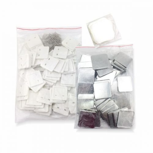 Square button badge material supplier Malaysia