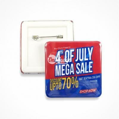 Square button badge promotion Malaysia