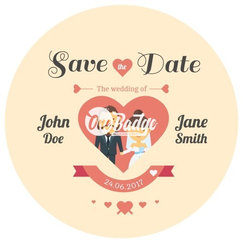 Wedding Theme Button Badges (15)