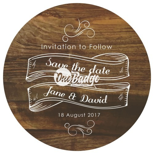 Wedding Theme Button Badges (18)