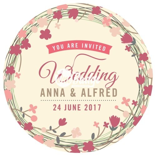 Wedding Theme Button Badges (19)