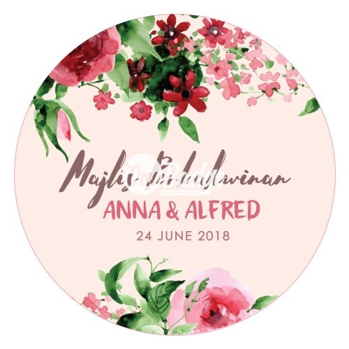 Wedding Theme Button Badges (21)