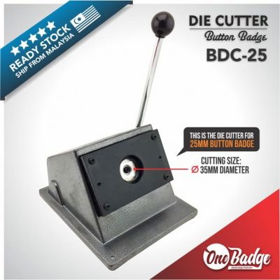 Button Badge Die Cutter-25mm