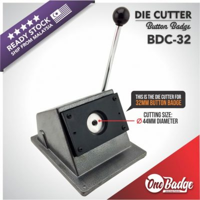 Button Badge Die Cutter-32mm