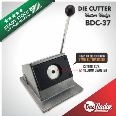 Button Badge Die Cutter-37mm