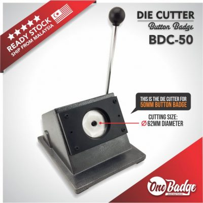 Button Badge Die Cutter – 50mm
