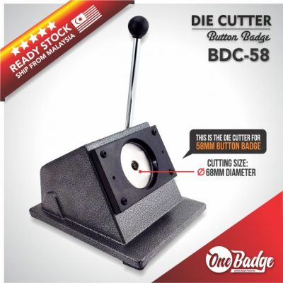 Button Badge Die Cutter – 58mm