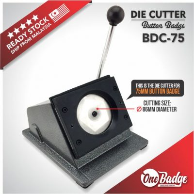 Button Badge Die Cutter – 75mm