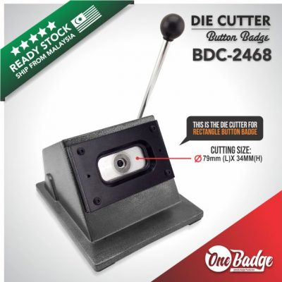 Rectangle Die Cutter – 24mm x 68mm