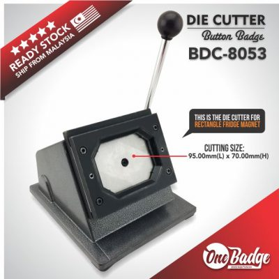 Rectangle Die Cutter 83mm x 50mm
