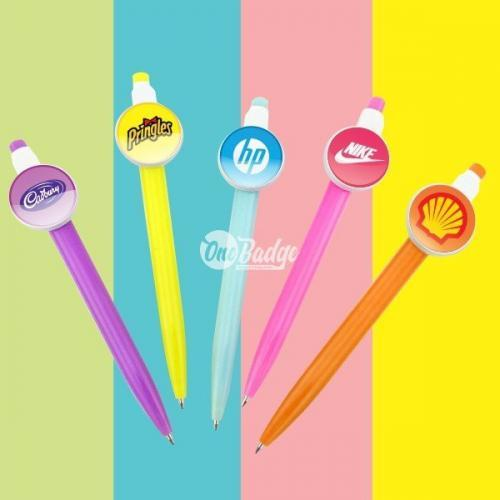 Button Badge Ball Pen in Malaysia