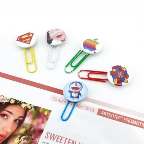 Button Badge with Bookmark Clip Malaysia