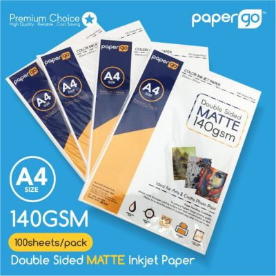 Papergo 140gsm Matte Double Side Photo Paper-1