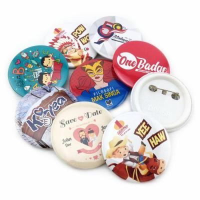 Button Badge 58mm Samples