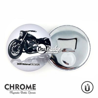 Chrome Magnet Bottle Opener 1