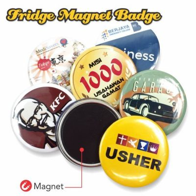 Fridge Magnet Button Badge 58mm