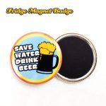 Fridge Magnet Button Badge Sample