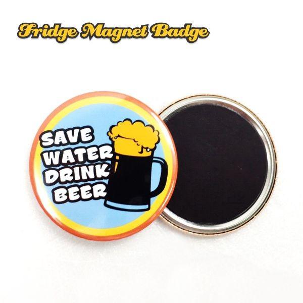 Fridge Magnet Button Badge Material-58mm