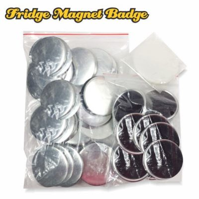 Fridge Magnet Button Badge Material 58mm