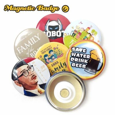 Magnetic Button Badge Supplier in Malaysia