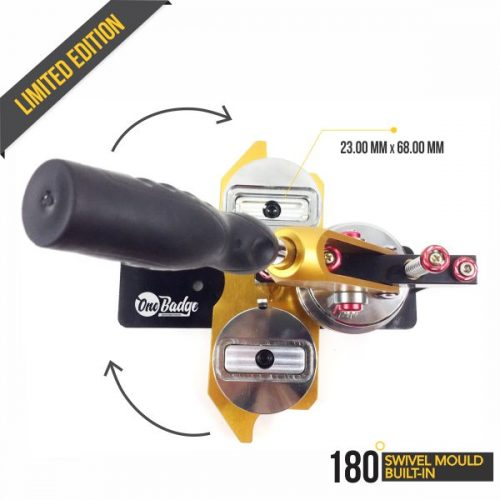 Rectangle Button Badge Machine - Sub6