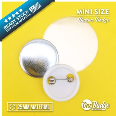 Button Badge Material 25mm -1