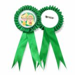 Ribbon Medal Badge Supplier Malaysia - Green Colour