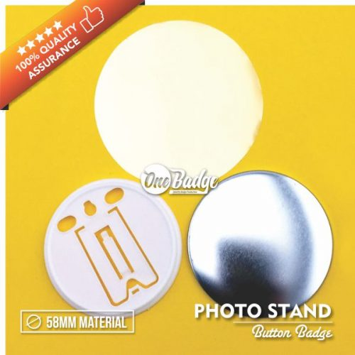 Button Badge Photo Stand 58mm