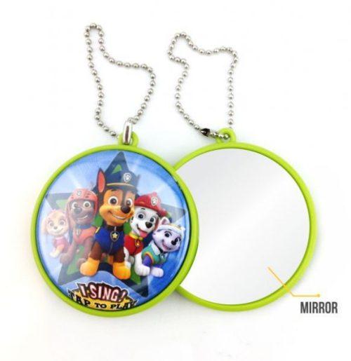 keychain mirror button badge 58mm