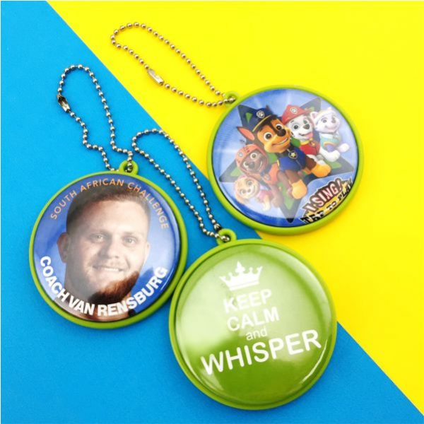Keychain Mirror Button Badge Material-58mm