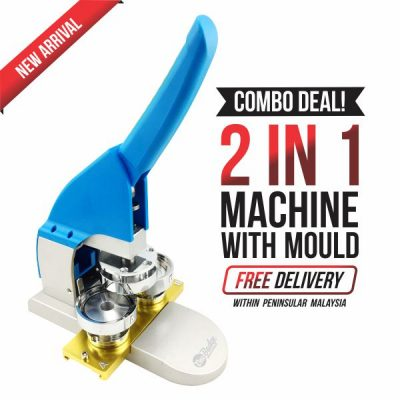 Blue Badge Machine 2 in 1 58mm -1