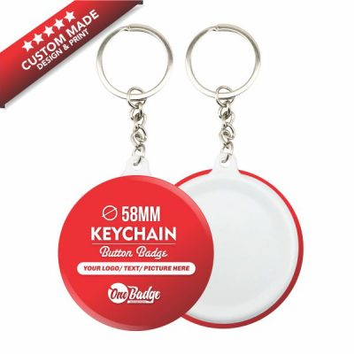 Custom Design & Print – Keychain Button Badge 58mm-3